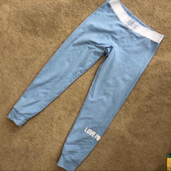 2e6b6d9306093 pink Victoria's Secret Sweatpants Euc Ankle length